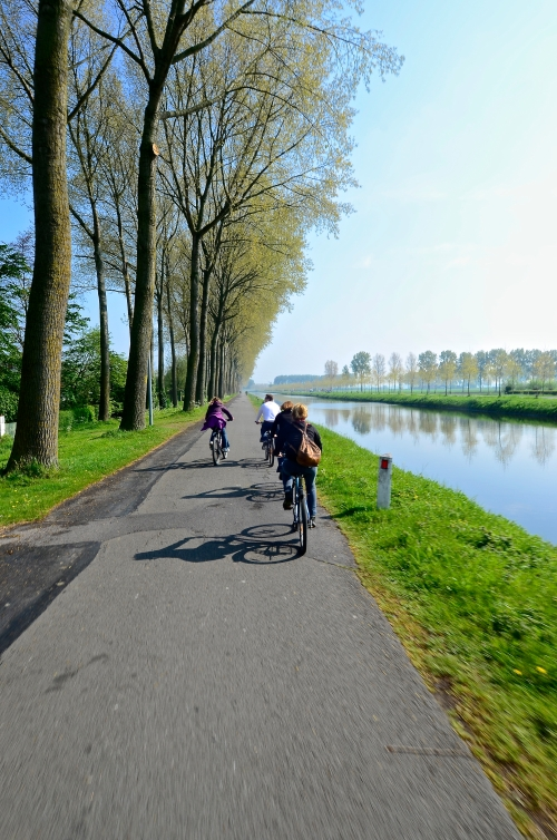 Bicycling Belgium